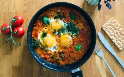 Indian Summer: Feuriges Shakshuka