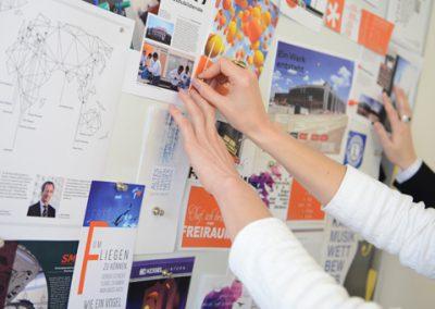 Ideen-Pinboard