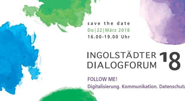 Vormerken Dioalogforum 2018.