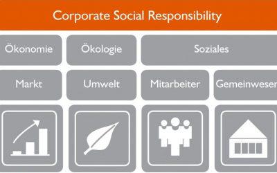 Vier Felder der Nachhaltigkeit